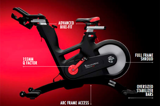 Partes bici spinning Life Fitness IC7